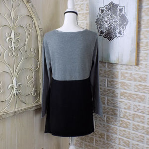 Style & Co Sweaters - Style and Co color block scoop neck sweater